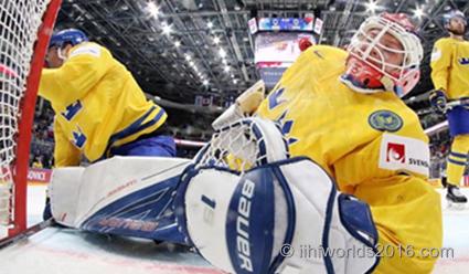 Казахстан проиграл Швеции вгрупповом этапеЧМ похоккею