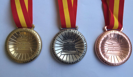 Военный батутист Михаил Мельник стал победителем Чемпионата Европы вкомандном турнире