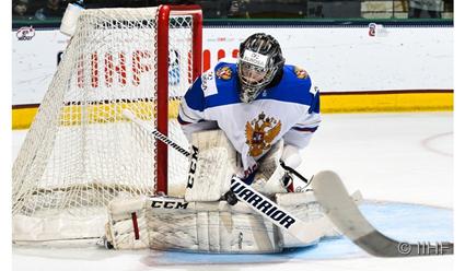 Сборная Российской Федерации обыграла Швейцарию наюношеском чемпионате мира