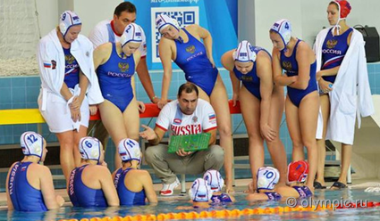 Российские ватерполистки разгромили команду Франции в матче отбора на ОИ-2016