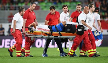 РФС: Футболист сборной Российской Федерации Зобнин, вероятно, сломал связки коленного сустава