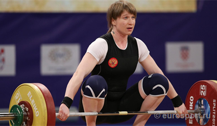 Нижегородка Анастасия Романова стала чемпионкой Европы потяжелой атлетике