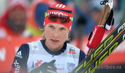 Лыжница Наталья Матвеева одолела наэтапе Кубка мира