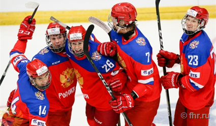 Юниорская сборная РФ обыграла Канаду наМировом Кубке вызова