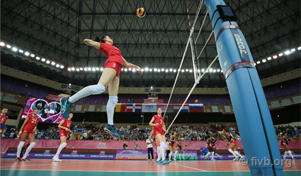 Русские волейболистки победили китаянок винтерконтинентальном раунде Гран-при
