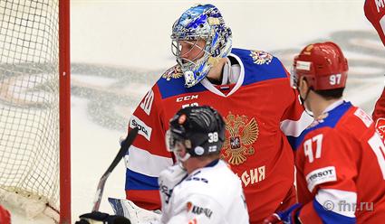 Сборная РФ  одолела  Чехию всерии буллитов