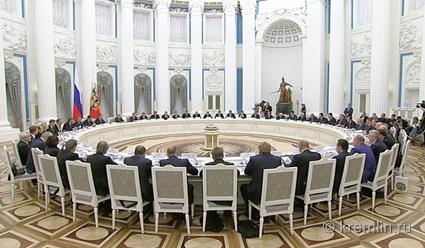 Совещание Совета при Президенте Российской Федерации поспорту состоится 11октября
