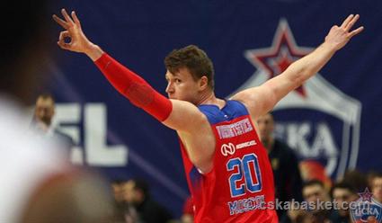 ЦСКА обыграл «Бамберг» вматче баскетбольной Евролиги
