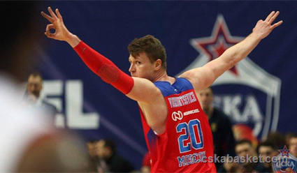 ЦСКА обыграл «Бамберг» вматче Евролиги