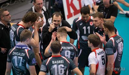 Вволейбольной Лиге чемпионов русские участники турнира пока только побеждают