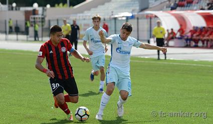 «Зенит» вгостях обыграл «Амкар» вчемпионате Российской Федерации