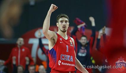 Баскетболисты ЦСКА проиграли «Фенербахче» вматче Евролиги