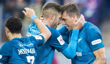 СегодняФК «Оренбург» сыграет вгостях сФК «Зенит» (Санкт-Петербург)