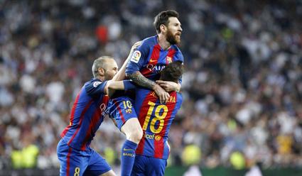 «Барселона» одолела «Реал» наего поле срезультатом 3:2