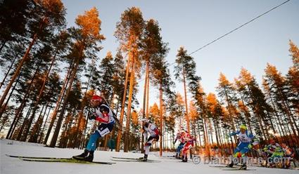 Мартен Фуркад одержал победу спринт наэтапе Кубка мира побиатлону вКонтиолахти
