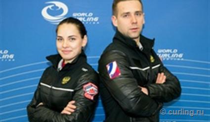 Сборная РФ одержала вторую победу начемпионате мира вдабл-миксте