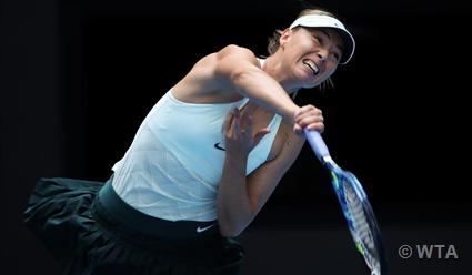 Мария Шарапова вернулась втоп-50 наилучших теннисисток мира