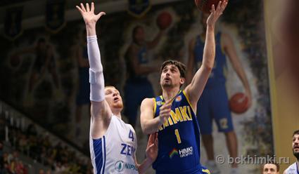 «Химки» переиграли «Зенит» в 4-м матче полуфинальной серии Единой лиги