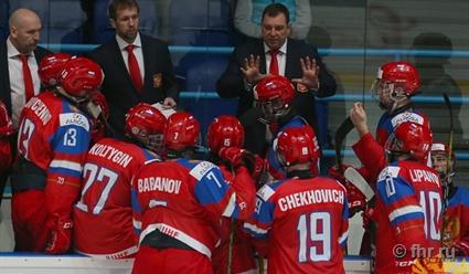 Сборная РФ переиграла команду Швеции вматче юниорскогоЧМ похоккею