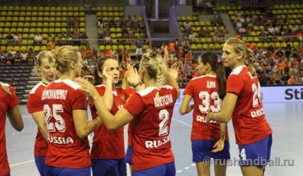 Гандболистки сборной РФ обыграли команду Нидерландов изаняли первое место вгруппе