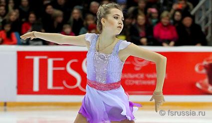 Русская фигуристка вышла вфинал Гран-при в КНР