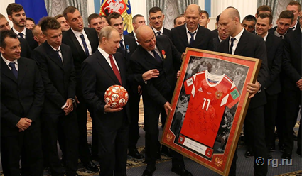 Черчесов был удостоен ордена Александра Невского