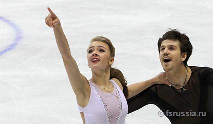Степанова иБукин стали пятыми втанцах нальду на«Скейт Канада»