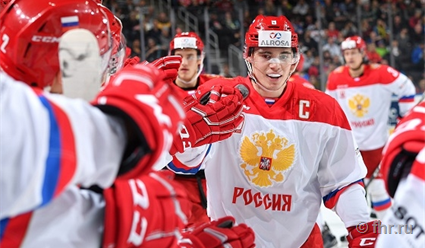 Молодёжная сборная Российской Федерации похоккею обыграла команду Западной хоккейной лиги
