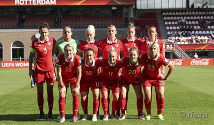 Женская сборная РФ пофутболу проиграла Швеции начемпионате Европы