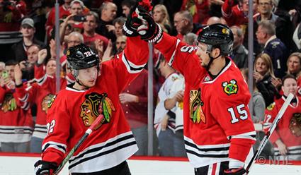 Шайба Анисимова вовертайме принесла «Чикаго» победу над «Нью-Джерси» вматче НХЛ