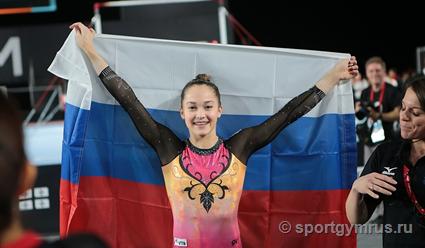 Проблемы вподготовке из-за травмы помешали гимнастке Мельниковой превосходно выступить наЧМ