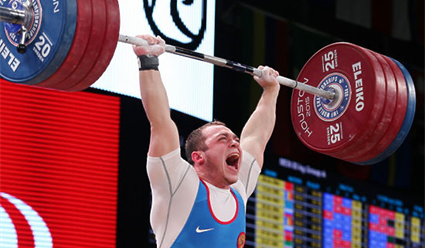 Малигов одержал победу золотую медаль чемпионата Европы