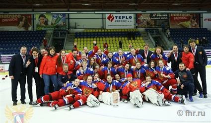 Россиянки завоевали бронзу молодежного чемпионата мира похоккею
