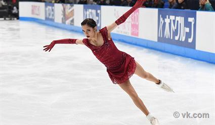 Уроженка Удмуртии Алина Загитова заняла 3-е место наJapan Open