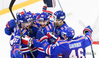 «Йокерит» уступил СКА ипрервал свою 15-матчевую победную серию