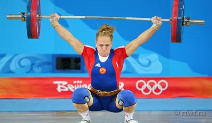 Штангистка Сливенко получит золотую медаль ОИ-2008 на совещании исполкома ФТАР