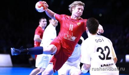 Сборная РФ погандболу начала выступление наЧМ спобеды над Японией