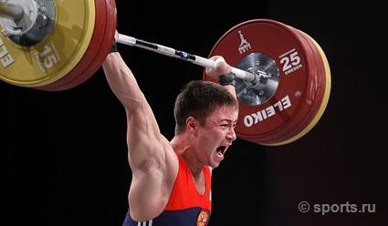 Кубанский тяжелоатлет одержал победу  серебро чемпионата Европы
