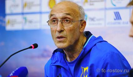 Бердыев назначен вице-президентом-тренером «Ростова»