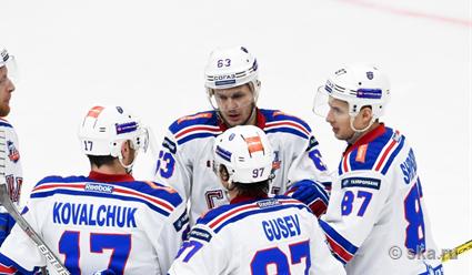 СКА иЦСКА вышли в ¼ финала Кубка Гагарина
