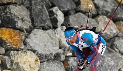 Дальмайер выиграла гонку преследования побиатлону вПхенчхане