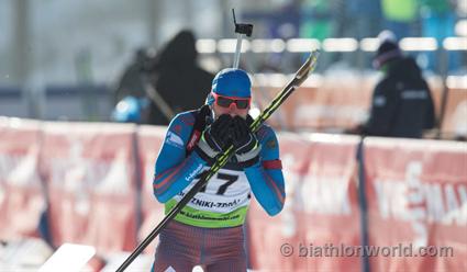 Биатлонисты РФ выиграли смешанную эстафету начемпионате Европы