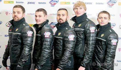 Мужская сборная РФ покерлингу одолела команду Дании вквалификацииОИ