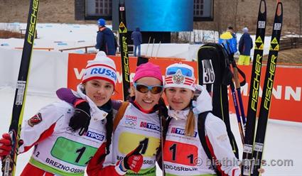 Биатлонисты юношеской сборной Белоруссии завоевали вторую медаль начемпионате мира