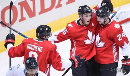 Сборная Канады переиграла команду Европы и вышла в полуфинал Кубка мира по хоккею с 1-го места в группе