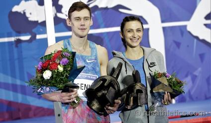 Прыгун ввысоту Данил Лысенко победил натурнире «Битва полов»