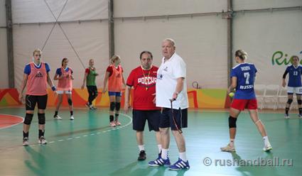 Ростовские гандболистки помогли одолеть сборной Российской Федерации