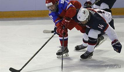 Русские  хоккеистки переиграли сборную Финляндии ивышли вполуфинал молодежного чемпионата мира