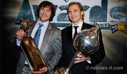 Четверо россиян вошли всписок 100 наилучших хоккеистов вистории НХЛ