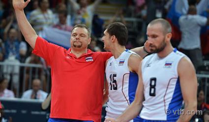 Русские волейболисты проиграли «бронзу» спортсменам изсоедененных штатов